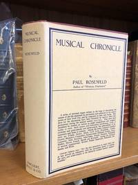 MUSICAL CHRONICLE (1917-1923) [SIGNED]
