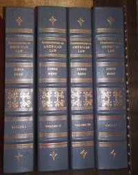 Commentaries on American Law (4 volumes)