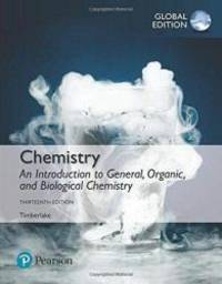 image of Chemistry: An Introduction to General, Organic, and Biological Chemistry, Global Edition