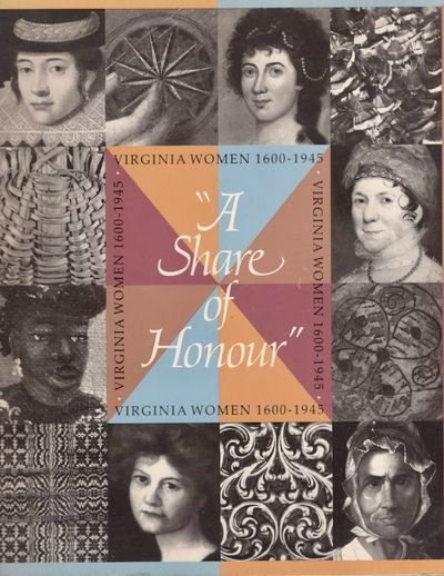 Richmond: The Virginia Women's Cultural History Project, 1984. Paperback. Very good. Tall paperback....