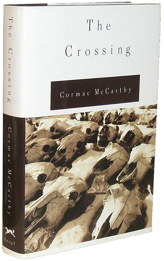 crossing essay cormac mccarthy Cormac mccarthy's work explores the darkest shadows of human nature, but mccarthy himself had a remarkably conventional childhood he was born charles joseph mccarthy.