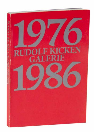 Koln, Germany: Rudolf Kicken Galerie, 1986. First edition. Softcover. 152 pages. Copy 153 from an ed...
