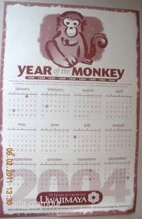 YEAR OF THE MONKEY - 2004 CALENDAR