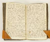 A FIRST-PERSON UNPUBLISHED, UNTITLED MANUSCRIPT ACCOUNT BY THOMAS WRIGHT OF LINCOLNSHIRE DESCRIBING HIS SEA VOYAGE AND OVERLAND JOURNEY TO THE MORRIS BIRKBECK SETTLEMENT IN SOUTHERN ILLINOIS TERRITORY.