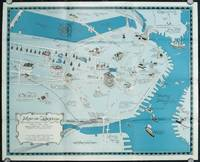 Decorated Map of Boston.  A Pictorial and Historical review of Boston, past and present.  (Map title: Map of Boston Showing Things that are Things that Were and Glorifying the Bent Streets of Old Boston.