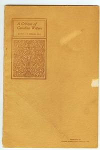 A Critique of Canadian Writers