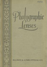 PHOTOGRAPHIC LENSES AND ACCESSORIES.; [cover title]