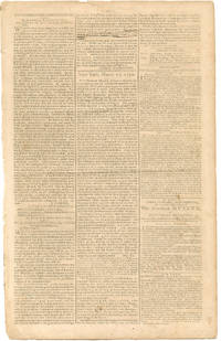 George Washington's Address to the Roman Catholics in America The Gazette of the United States