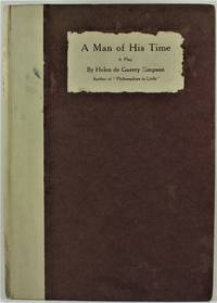 image of A Man of His Time A Play 1st Edition