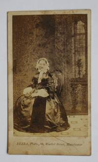 Carte De Visite Photograph: Portrait of a Seated Young Woman. by J. Berra - from N. G. Lawrie Books. (SKU: 47911)