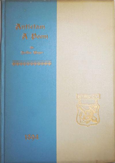 Hartford: Press of the Case, Lockwood & Brainard Company, 1894. First edition. Cloth. Very Good. 8vo...