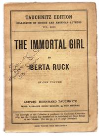 The Immortal Girl