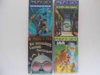 image of Les Marteaux de Vulcain, La Brèche dans L'espace, En Attendant L'année Dernière,  Ubik (4 books / livres)