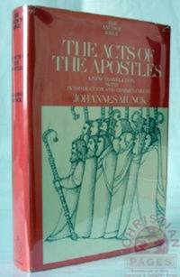 The Acts of the Apostles (Anchor Bible Series, Vol. 31)