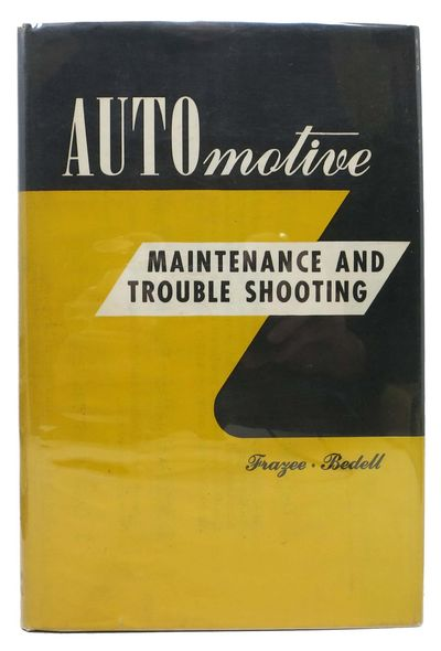 Chicago: American Technical Society, 1952. Grey cloth with yellow lettering. F/NF. A nice copy.. 414...