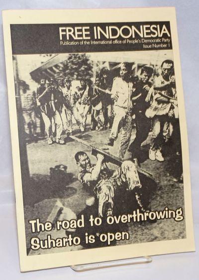 Broadway, NSW: Partai Rakyat Demokratik (Indonesia), International Office, 1998. 19p., staplebound w...