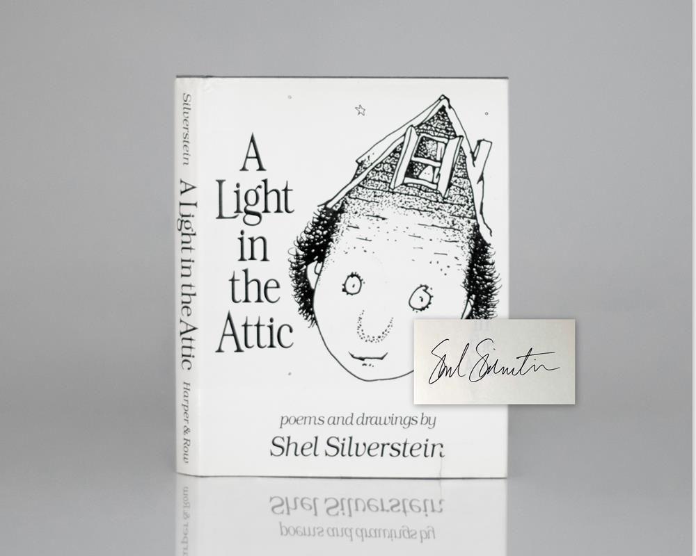 Shel Silverstein Books: A Light In The Attic. By Silverstein, Shel