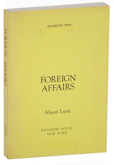 New York: Random House, 1984. First edition. Softcover. Uncorrected proof.. Winner of the Pulitzer P...