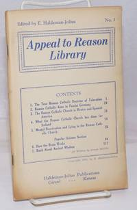 image of Appeal to Reason library no. 3 Edited by E. Haldeman-Julius