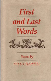 First and Last Words: Poems