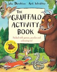 The Gruffalo Activity Book by  Julia Donaldson - Paperback - 2007 - from ThriftBooks and Biblio.com