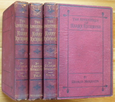 1871. In Three Vols. London: Smith, Elder & Co., 1871. Original deep red cloth decorated in black an...