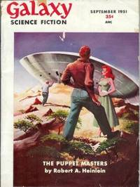 "image of GALAXY Science Fiction: September, Sept. 1951 (""The Puppet Masters"")"