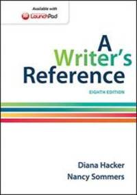 A Writer's Reference by Hacker, Diana