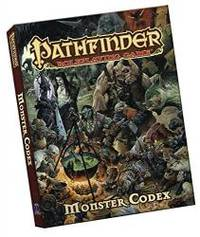 image of Pathfinder Roleplaying Game: Monster Codex Pocket Edition