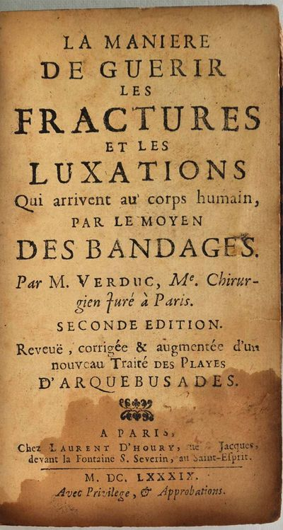 Paris, France: Chez Laurent D'Houry, 1689. Book. Good condition. Hardcover. Second edition. 16mo - o...