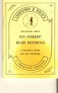 Lightfoot & Whay's Stillwater Trout Fly-Fishers' Ready Reference Book