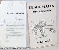 image of Black Maria: vol. 4, #3; Women Speak [inscribed_signed]