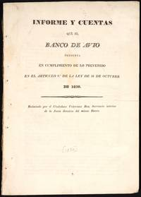 Mexican Treasury, 1830 - 1850 Banking and Treasury Reports (5), Banco De Avio 1830
