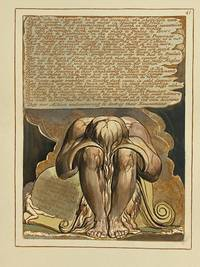 Individual Facsimile Prints from the Trianon Press; Jerusalem, Sterling Copy E, plate 41 by  William Blake - from Archives Fine Books  (SKU: 1197)