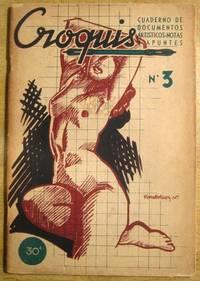 Croquis: Cuaderno de Documentos Artisticos--Notas y Apuntes Septiembre, 1940, No. 3