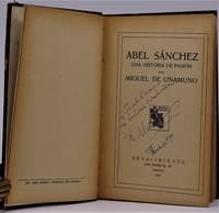(ASSOCIATION COPY)  Abel Sanchez. Una Historia de Pasion