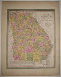 A New Map of Georgia with its Roads & Distances by  Samuel Augustus Sr MITCHELL - 1846 - from Argosy Book Store and Biblio.com