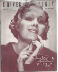 image of Universal weekly magazine: vol.37, no.22: 1935 Dec. 28. Binnie Barnes