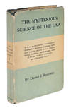 View Image 2 of 2 for The Mysterious Science of the Law, With a Rare Dust Jacket Inventory #71700