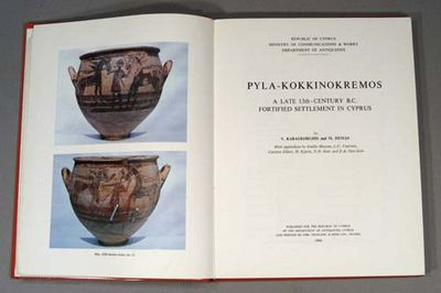 1984. KARAGEORGHIS, V., & M. Demas. PYLA-KOKKINOKREMOS: A late 13th-century B.C. fortified settlemen...