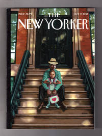 "image of The New Yorker - October 2, 2017. Kadir Nelson Cover, ""Generations"". Myanmar Fallen Idol (Aung San Suu Kyi); Willa Cather People; Gloria Allred; Health Care; Rodin; The Knife; Lillian Ross; Demetri Martin; Victoria & Abdul"