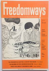 image of Freedomways: a quarterly review of the freedom movement. vol. 12, no. 4 (Fourth quarter, 1972)