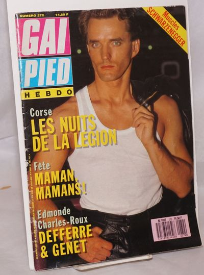 Paris: Gai Pied Hebdo, 1987. Magazine. 72p., including covers, 8.75x12 inches, text in French, illus...