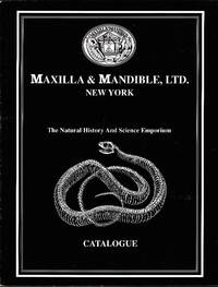Maxilla & Mandible Ltd.: The Natural History and Science Emporium Catalogue