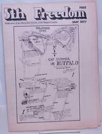image of The Fifth Freedom [aka 5th freedom]: publication of the Buffalo Gay Community; vol. 7, #5, May 1977: Gay Summer in Buffalo