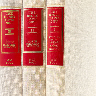 (London): The British Library, 2010. Second edition of vol. I (one of 250 copies), first editions of...