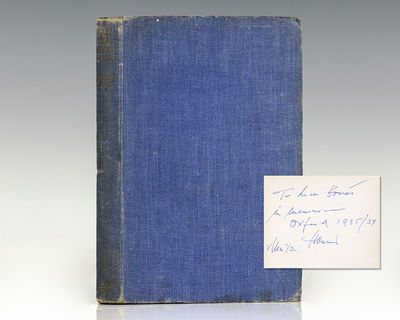 London: The Cresset Press, 1942. First edition, early printing of Smith's sensational best-selling w...