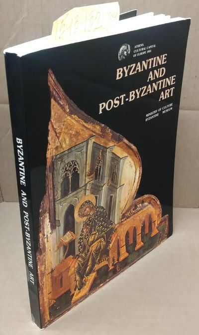 Athens: Ministry of Culture, Byzantine Museum, 1986. Softcover. Quarto; pp 265; G/paperback; black s...
