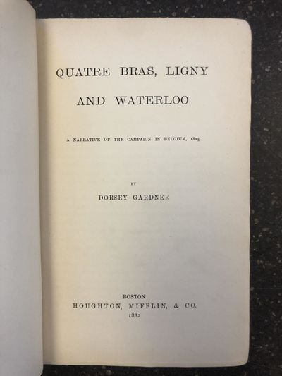 Boston, MA: Houghton, Mifflin, & Company, 1882. First Edition. Hardcover. Octavo, 515 pages; VG-; fu...
