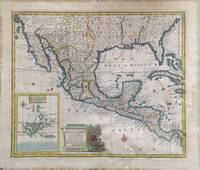 A New & Accurate Map of Mexico or New Spain together with California New Mexico &c
